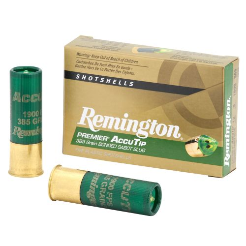 Remington Premier AccuTip 12 Gauge 385-Grain Bonded Sabot Slugs