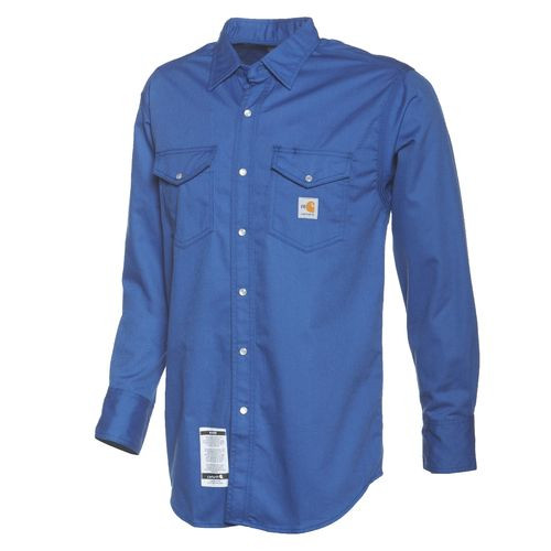 Carhartt Men's Flame-Resistant Snap-Front Twill Shirt