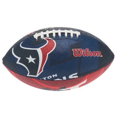 Wilson Youth Houston Texans NFL Junior Super Grip Football