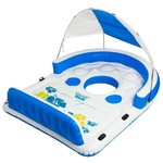 Splashin' Fun® Blue Lagoon 4-Person Inflatable Island