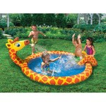 "Banzai Spray 'N' Splash 5.4' x 26"" Round Pool"