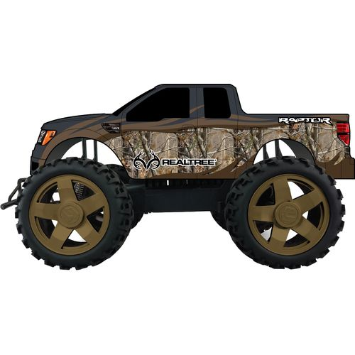 Image for NKOK Realtree 1:10 Scale F-150 SVT Raptor RC Truck from Academy