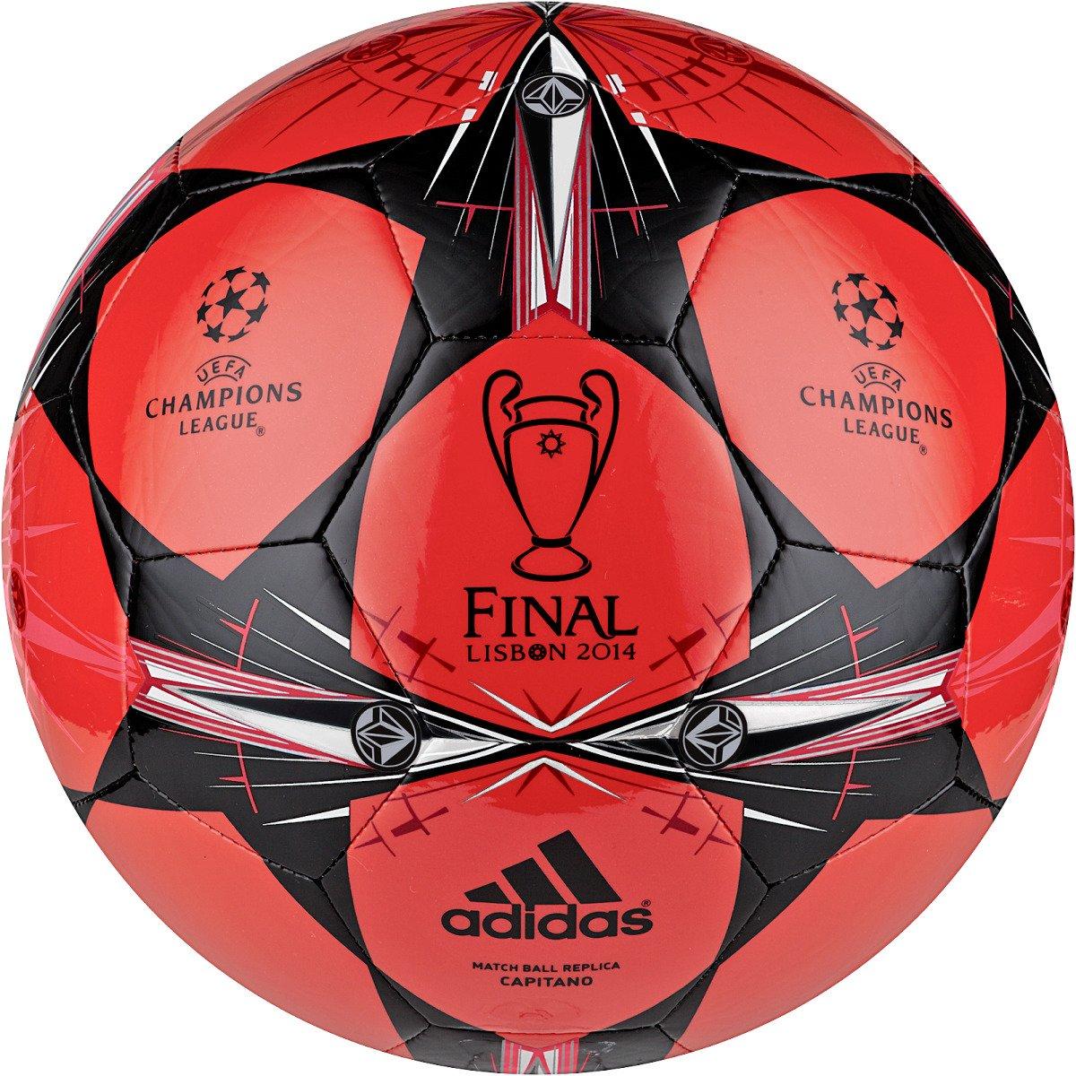 adidas Finale Lisbon Capitano Soccer Ball