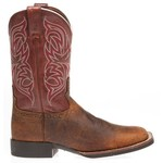 Justin Men's Stampede Cattleman Rugged Cow Western Boots - view number 1