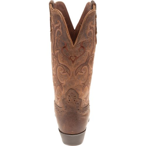 Justin Women's Puma Cowhide Western Boots - view number 4