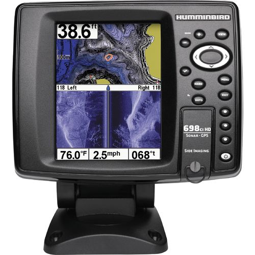 Humminbird onix8ci si sonar gps chartplotter combo academy for How to read a humminbird fish finder