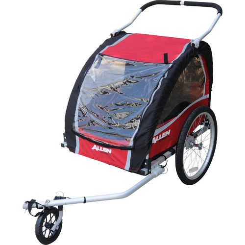 Allen Sports AST200 2-Child Bike Trailer/ Jogger
