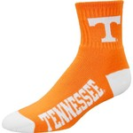 For Bare Feet Men's University of Tennessee Team Color Quarter Socks