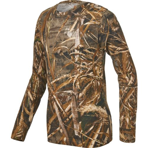 Game Winner Boys' Hill Zone Camo Long Sleeve T-shirt
