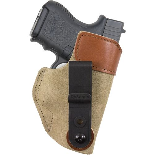 Display product reviews for DeSantis Gunhide® Sof-Tuck™ Inside the Waistband Tuckable GLOCK 26/27 Holster