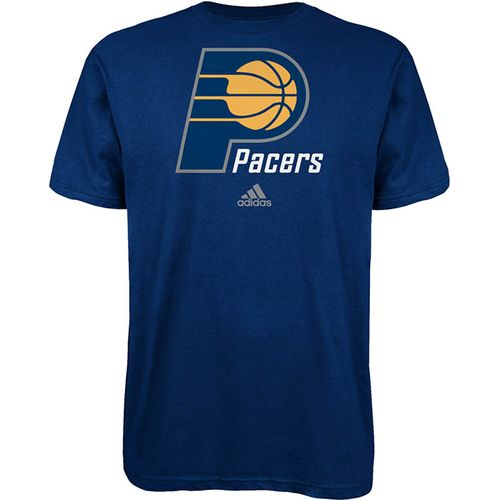 adidas™ Men's Indiana Pacers Full Primary Logo T-shirt