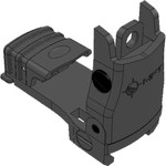 Mission First Tactical Rear Backup Sight