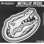Stockdale University of Florida Metallic Decal