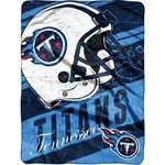 NFL Tennessee Titans Deep Slant Micro Raschel Throw