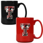 Great American Products Texas Tech University 15 oz. Coffee Mugs 2-Pack