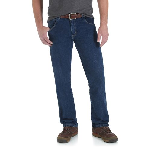 Wrangler Men's Rugged Wear Advanced Comfort Regular Straight Jean