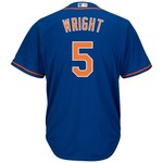 Majestic Men's New York Mets David Wright #5 Cool Base® Replica Jersey - view number 1