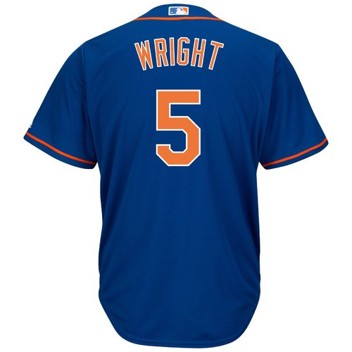 Majestic Men's New York Mets David Wright #5 Cool Base® Replica Jersey