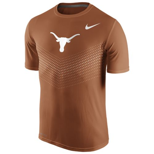 Nike Men's University of Texas Legend Sideline Short Sleeve T-shirt