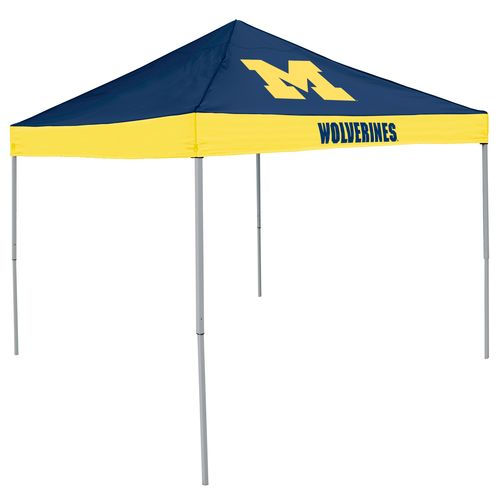 Logo™ University of Michigan Straight-Leg 9' x 9' Economy Tent