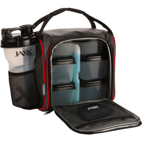 Fit & Fresh Jaxx Fuel Pack with Portion Control Containers and Shaker Cup