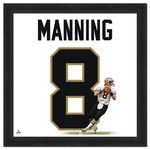 Photo File New Orleans Saints Archie Manning #8 UniFrame 20