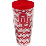 Tervis University of Oklahoma Chevron 24 oz. Tumbler with Lid