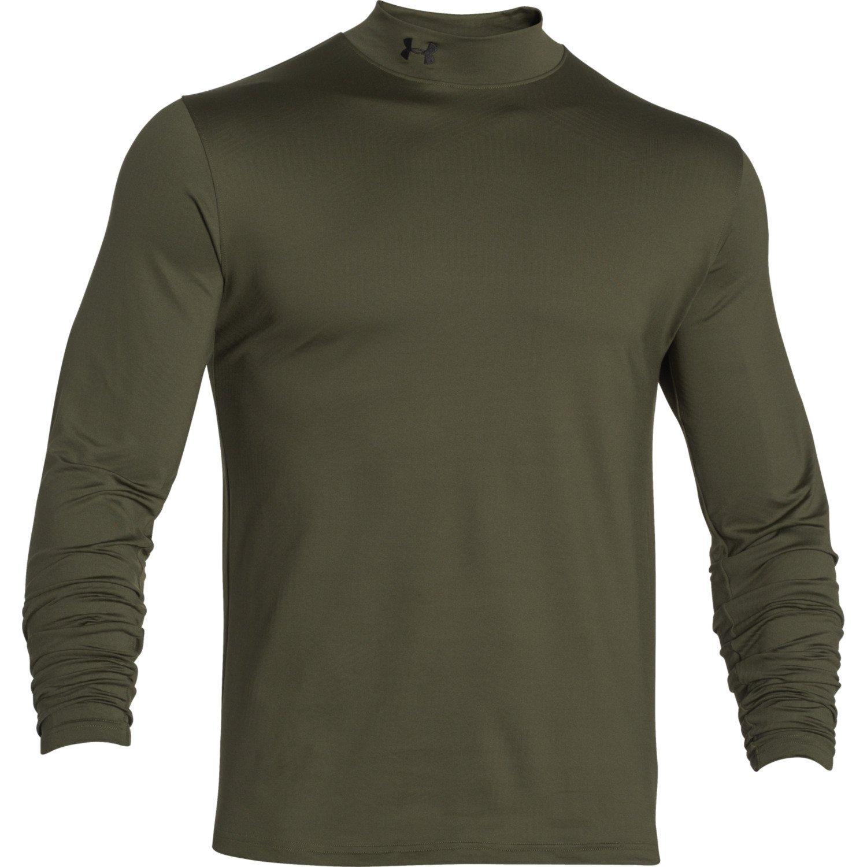 Under Armour Men 39 S Coldgear Infrared Evo Mock Neck Shirt