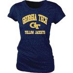 Blue 84 Juniors' Georgia Tech Triblend T-shirt