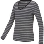 BCG™ Women's Striped Territory Long Sleeve V-neck T-shirt