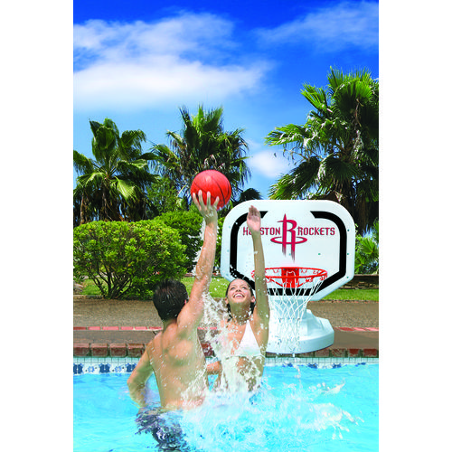 Poolmaster® Houston Rockets Competition Style Poolside Basketball Game - view number 2