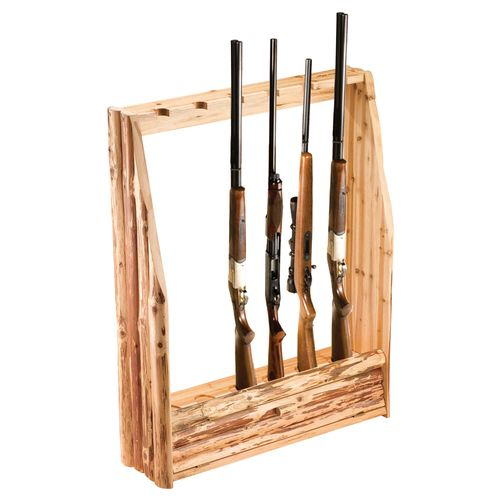 Display product reviews for Rush Creek 6-Gun Rack with Storage