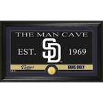 The Highland Mint San Diego Padres Man Cave Bronze Coin Photo Mint