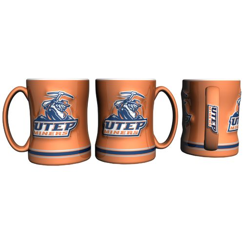 Boelter Brands University of Texas at El Paso 14 oz. Relief-Style Coffee Mug