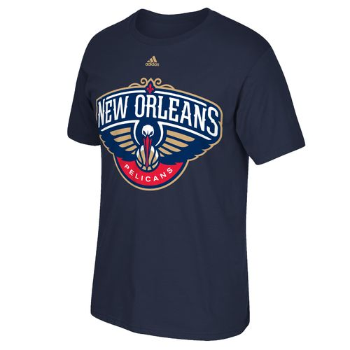 adidas™ Men's New Orleans Pelicans Tip-Off Huge Preferred Logo T-shirt