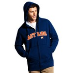 Antigua Men's Houston Astros Signature Full Zip Hoodie