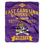 The Northwest Company East Carolina University Label Raschel Throw - view number 1