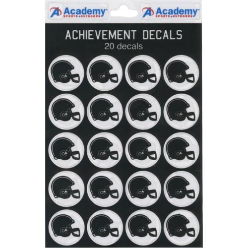 Academy Sports + Outdoors Football Helmet Decals 20-Pack