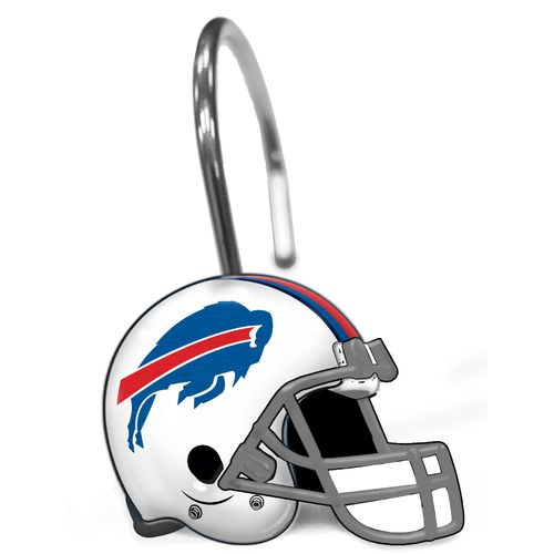 The Northwest Company Buffalo Bills Shower Curtain Rings