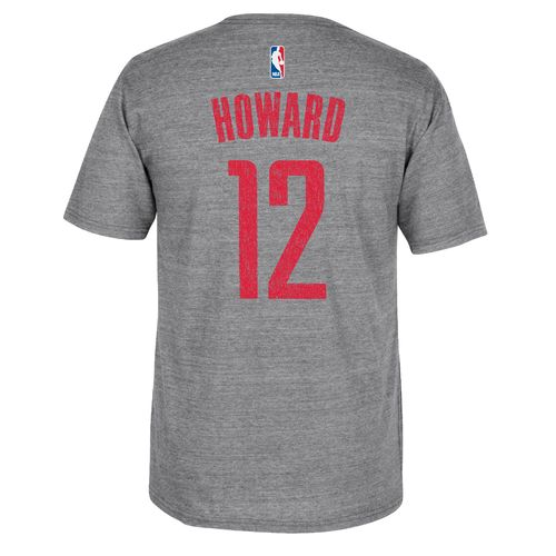 adidas™ Men's Houston Rockets Dwight Howard #12 Distressed T-shirt