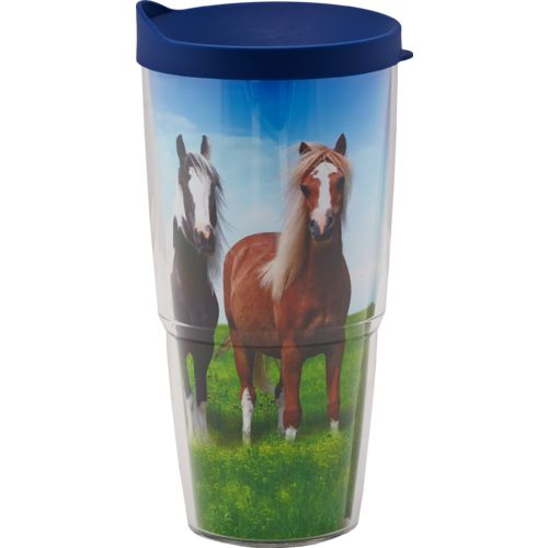 Tervis Horses 24 oz. Tumbler with Lid