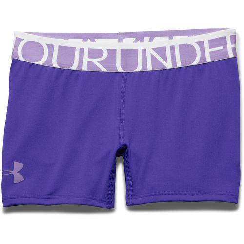 "Display product reviews for Under Armour™ Girls' HeatGear® 3"" Solid Short"