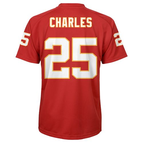 NFL Boys' Kansas City Chiefs Jamaal Charles #25