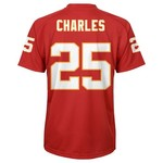 NFL Boys' Kansas City Chiefs Jamaal Charles #25 Fashion Performance T-shirt