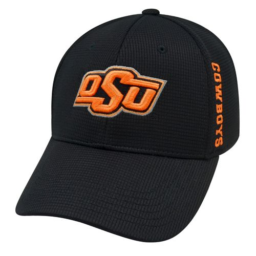 Top of the World Men's Oklahoma State University Booster Plus Cap