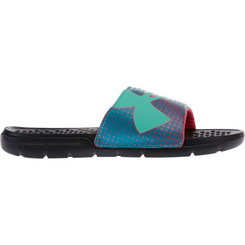 Under Armour Girls' Strike Ombre Slides