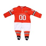 Glitter Gear Toddlers' Oklahoma State University Long Sleeve Footy Suit