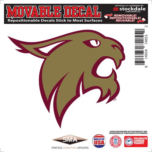 "Stockdale Texas State University 6"" x 6"" Decal"