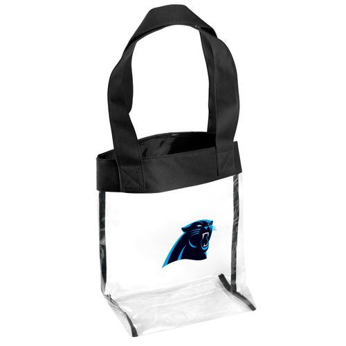 Team Beans Carolina Panthers Clear Tote Bag