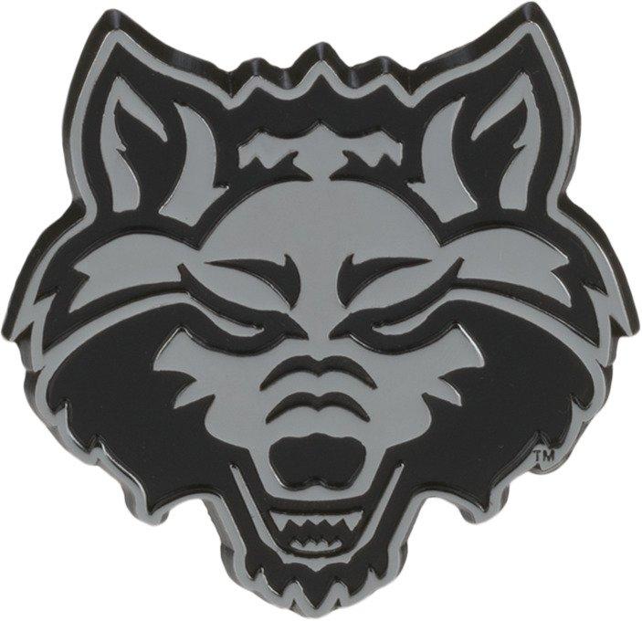 Stockdale Arkansas State University Chrome Freeform Auto Emblem
